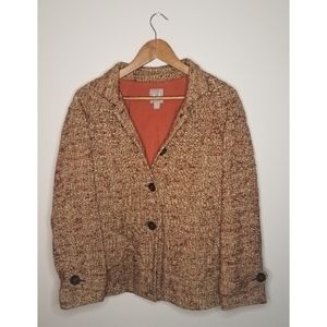 J. Jill Fall and Vintage Looking Blazer size small